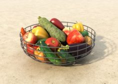 Vegetable Fruit 3D Model