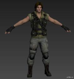 Carlos 3D Model