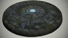 Ancient portal 3D Model