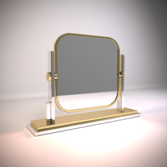 Eicholtz Table Mirror Carmen 3D Model