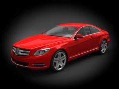 Mercedes-Benz CL-class 2012 3D Model