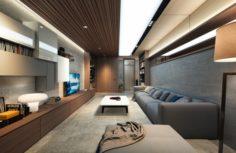 CT Livingroom 3D Model