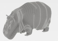 Hippopotamus 3D Model