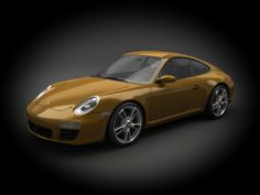 Porsche 911 997 2011 3D Model