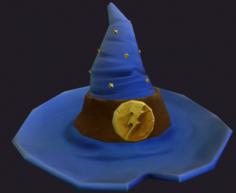Wizzard hat 3D Model