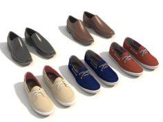 Men Shoes Design 3D Model