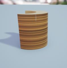 Modern Arm-chair 3D Model