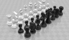 Evil Chess 3D Model