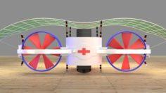Rescue aircraft 3D Model