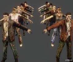 Zombie Pack -REORC 3D Model