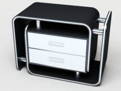 Office furniture Free 3D Model