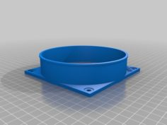 S9 Antminer Air Duct v2 3D Print Model