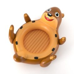 Inflatable Otter 01 3D Model