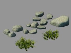 Forgetful Forest – Stone 91 3D Model