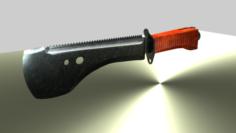 Pack 2 knifes 3D Model