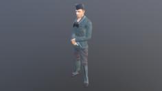 GR tankman 3D Model