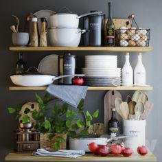 Decorative set for kitchen                                      3D Model