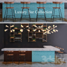 Luxury Bar Collection                                      3D Model