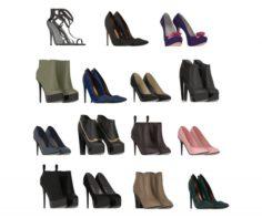 Women Designer Shoes 3D Model