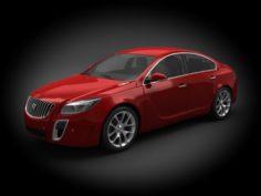 Buick Regal 2012 3D Model