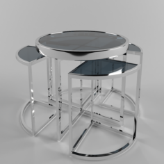 Eichholtz Side Table Vicenza 3D Model