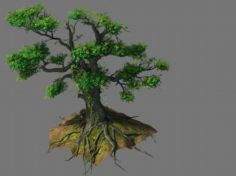 New Village – tree viewing 04 3D Model