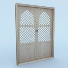 Moroccan Door 3D Model