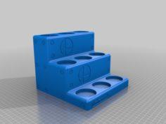 9 Character Smash Brothers Amiibo Plinth 3D Print Model