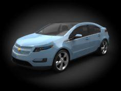 Chevrolet Volt 2012 3D Model