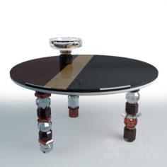 Louisiana Table by Reflections Copenhagen                                      Free 3D Model