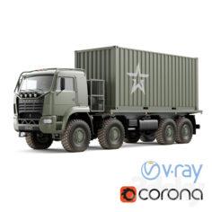 Truck KAMAZ 6560                                      3D Model