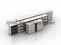 USM Modular Furniture part 01 3D Collection