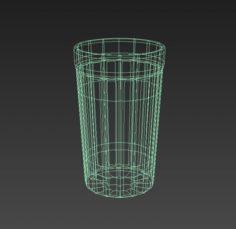 Glass beaker 3D Model