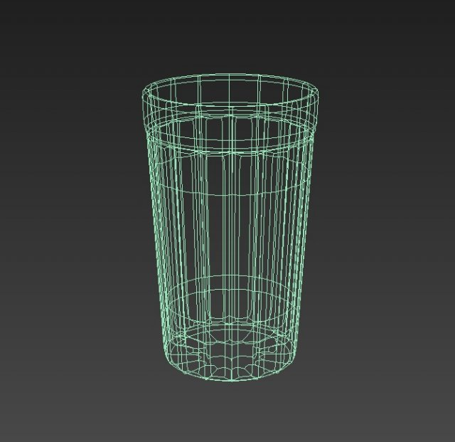 Glass beaker 3D Model