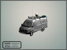 GAZelle 2705 First Channel News 3D Model