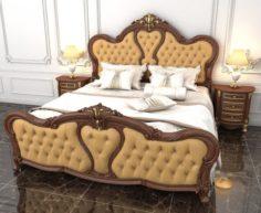 Luxury Bedroom 3D Model