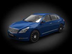 Nissan Teana 2009 3D Model