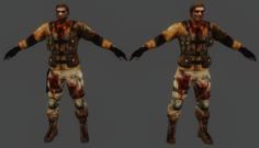 ubcs zombie 3D Model