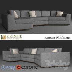 sofa MIAMI                                      Free 3D Model