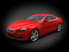 BMW M6 2012 Coupe 3D Model