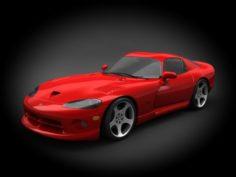 Dodge Viper GTS 1997 3D Model