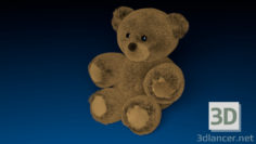 3D-Model  Teddy Bear 3D
