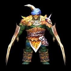 Armored person 3D Model