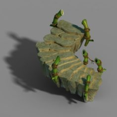 New Village – Stone Bridge 3D Model