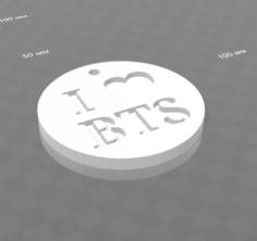 I love BTS 3D Model