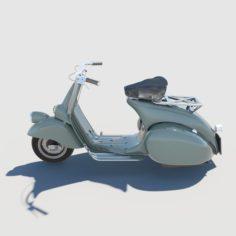Vespa Piaggio Classic 3D Model