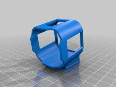 Armattan Rooster/Chameleon Ti GoPro Session Mount 25° 3D Print Model
