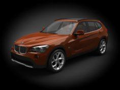 BMW X1 2011 3D Model