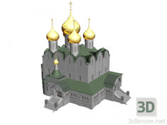 3D-Model  Assumption Cathedral, Yaroslavl