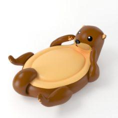 Inflatable Otter 3D Model
